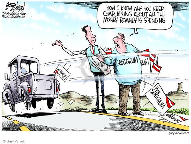 Gary Varvel  Gary Varvel's Editorial Cartoons 2012-03-07 Rick Santorum