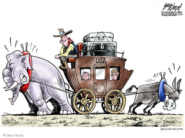 Cartoonist Gary Varvel  Gary Varvel's Editorial Cartoons 2012-03-11 GOP