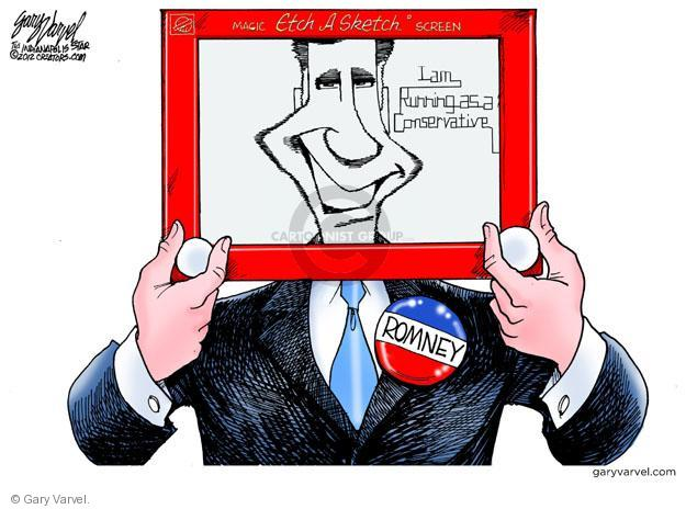 Cartoonist Gary Varvel  Gary Varvel's Editorial Cartoons 2012-03-22 GOP