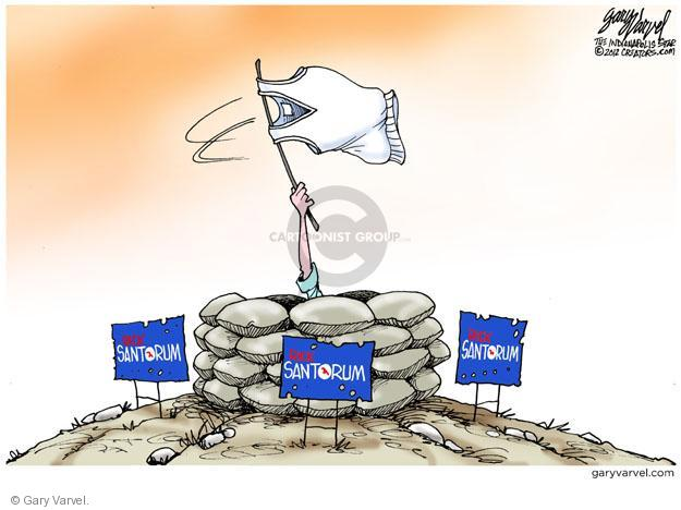 Cartoonist Gary Varvel  Gary Varvel's Editorial Cartoons 2012-04-11 2012 primary
