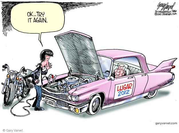 Cartoonist Gary Varvel  Gary Varvel's Editorial Cartoons 2012-04-22 2012 primary