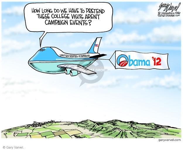 Cartoonist Gary Varvel  Gary Varvel's Editorial Cartoons 2012-04-27 Barack Obama