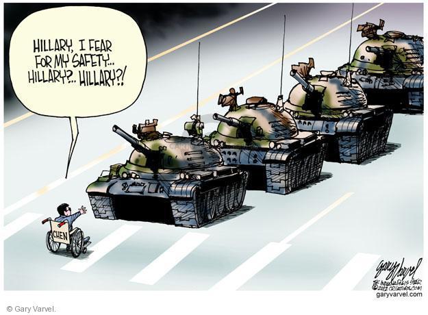 Gary Varvel  Gary Varvel's Editorial Cartoons 2012-05-04 fear