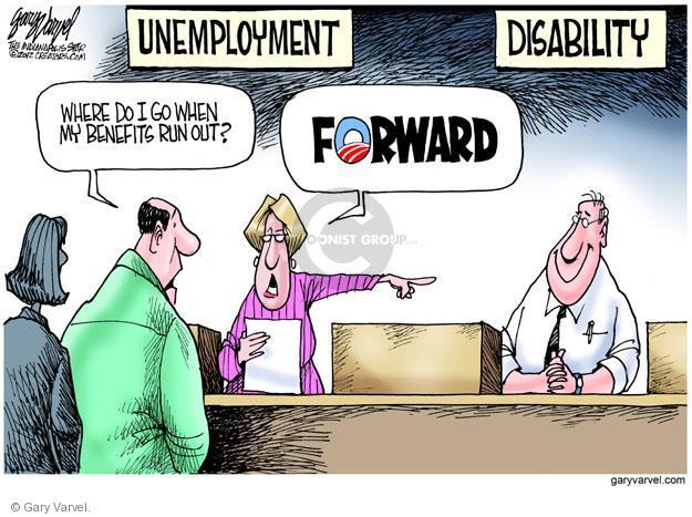 Cartoonist Gary Varvel  Gary Varvel's Editorial Cartoons 2012-05-08 unemployment