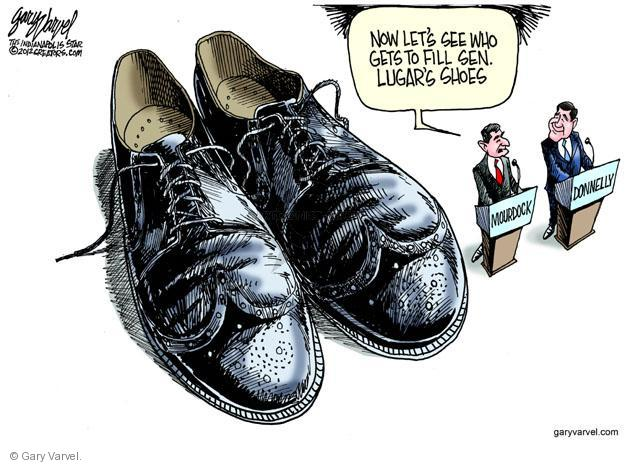 Cartoonist Gary Varvel  Gary Varvel's Editorial Cartoons 2012-05-10 GOP