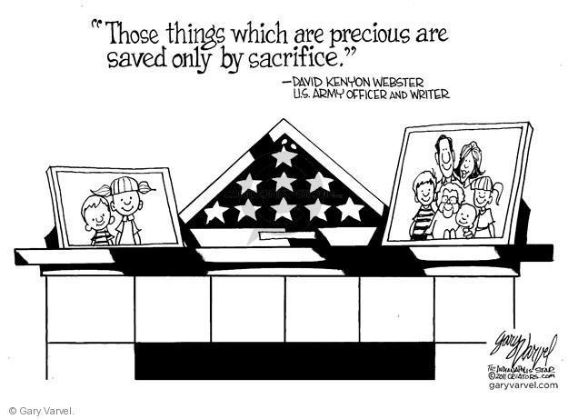 Cartoonist Gary Varvel  Gary Varvel's Editorial Cartoons 2012-05-27 officer