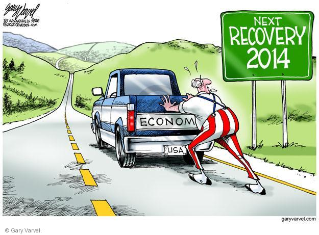Cartoonist Gary Varvel  Gary Varvel's Editorial Cartoons 2012-05-30 recession