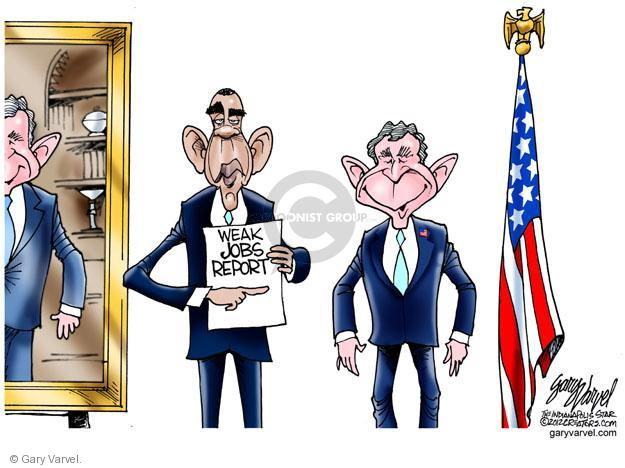 Gary Varvel  Gary Varvel's Editorial Cartoons 2012-06-03 George W. Bush
