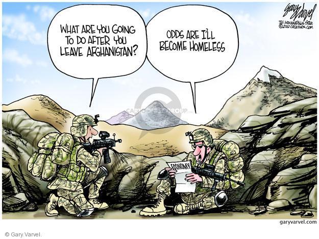 Cartoonist Gary Varvel  Gary Varvel's Editorial Cartoons 2012-06-14 recession