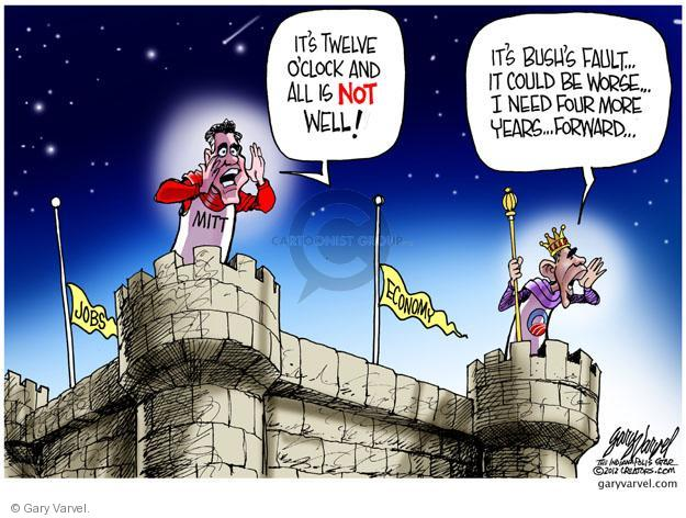 Cartoonist Gary Varvel  Gary Varvel's Editorial Cartoons 2012-06-24 blame Obama