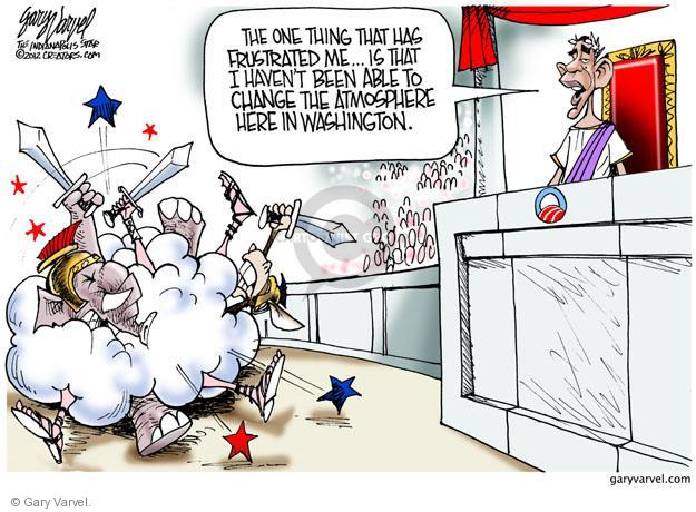 Cartoonist Gary Varvel  Gary Varvel's Editorial Cartoons 2012-07-17 infighting