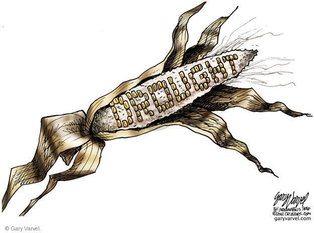 Cartoonist Gary Varvel  Gary Varvel's Editorial Cartoons 2012-07-18 temperature
