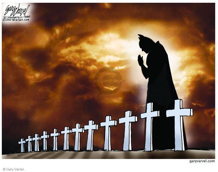 Cartoonist Gary Varvel  Gary Varvel's Editorial Cartoons 2012-07-24 shooter