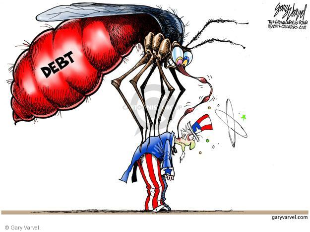 Gary Varvel  Gary Varvel's Editorial Cartoons 2012-08-23 federal budget