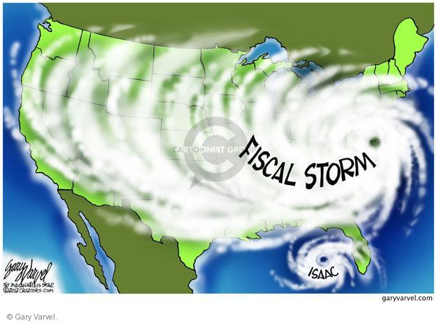 Fiscal storm. Isaac.