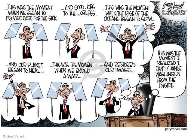Cartoonist Gary Varvel  Gary Varvel's Editorial Cartoons 2012-09-24 2008 election