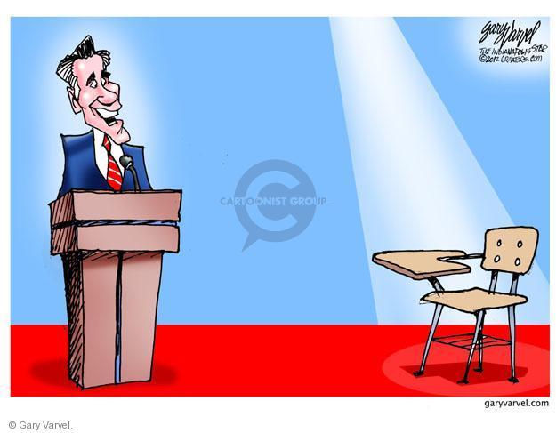 Cartoonist Gary Varvel  Gary Varvel's Editorial Cartoons 2012-10-04 Obama Romney