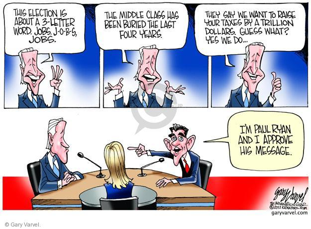 Gary Varvel  Gary Varvel's Editorial Cartoons 2012-10-11 Joe Biden