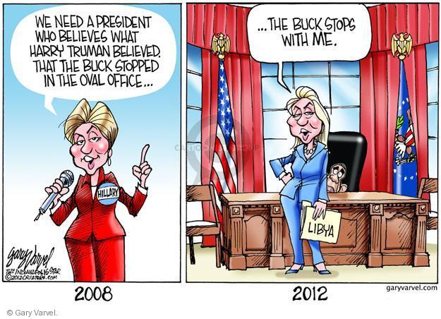 Cartoonist Gary Varvel  Gary Varvel's Editorial Cartoons 2012-10-17 American president