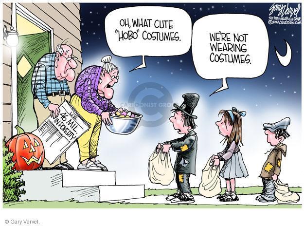 Gary Varvel  Gary Varvel's Editorial Cartoons 2012-10-21 poverty