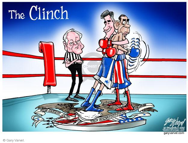 Cartoonist Gary Varvel  Gary Varvel's Editorial Cartoons 2012-10-24 union