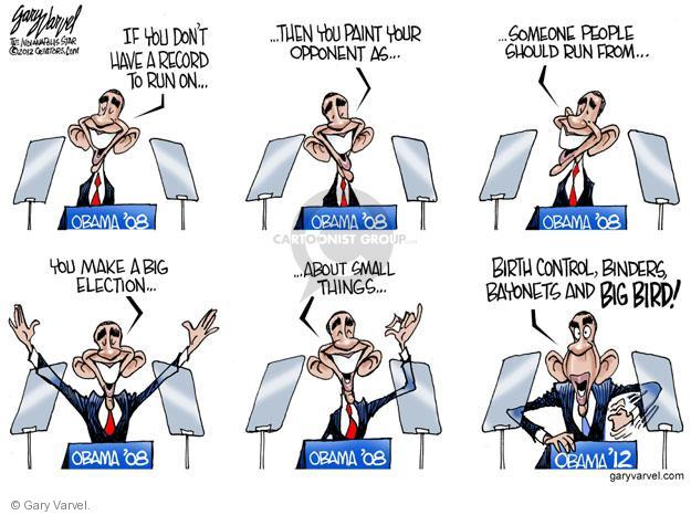Cartoonist Gary Varvel  Gary Varvel's Editorial Cartoons 2012-10-29 2012