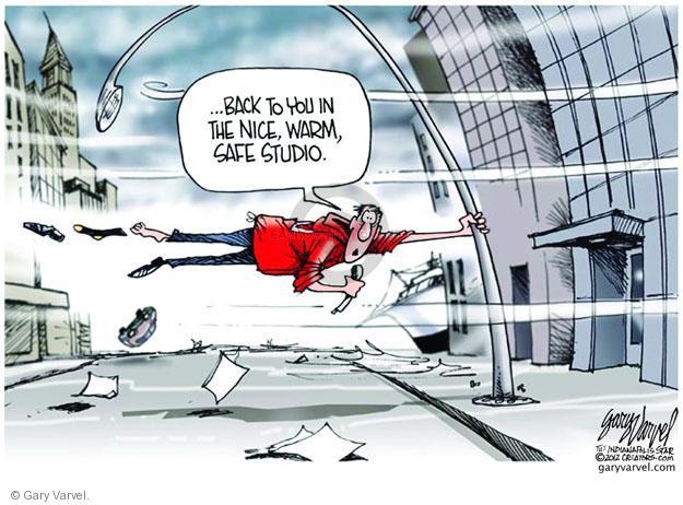 Cartoonist Gary Varvel  Gary Varvel's Editorial Cartoons 2012-10-30 sandy