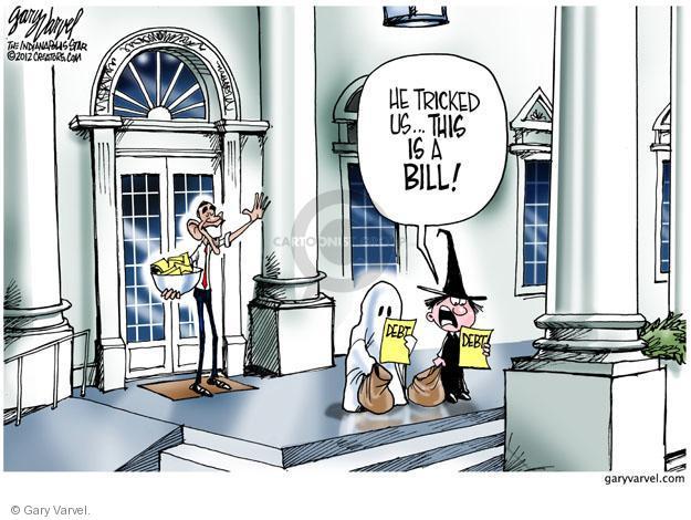 Gary Varvel  Gary Varvel's Editorial Cartoons 2012-10-31 2012 election