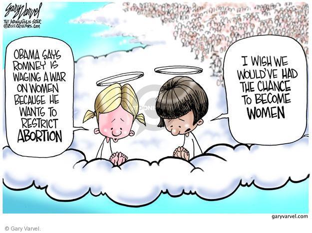 Cartoonist Gary Varvel  Gary Varvel's Editorial Cartoons 2012-11-02 life