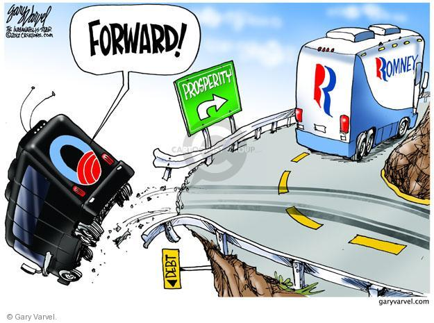 Gary Varvel  Gary Varvel's Editorial Cartoons 2012-11-06 2012 election economy