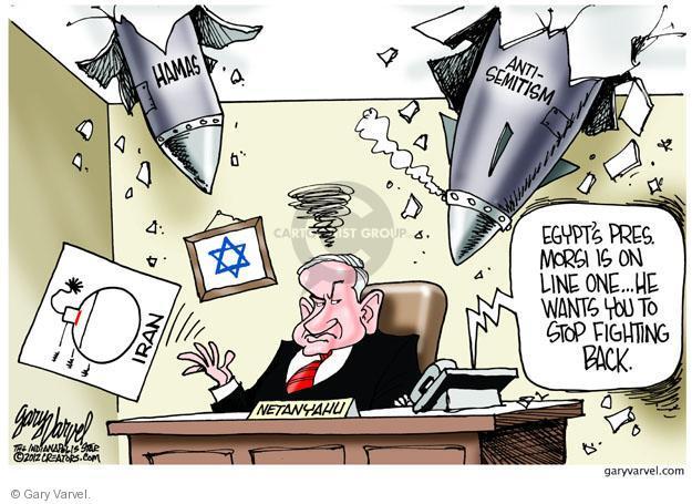 Gary Varvel  Gary Varvel's Editorial Cartoons 2012-11-18 Egypt