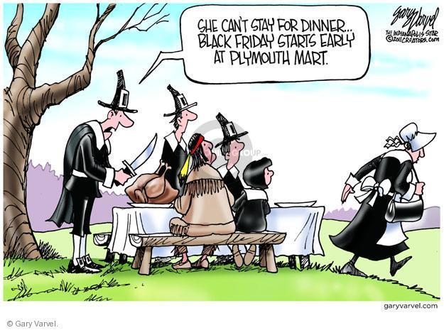 Gary Varvel  Gary Varvel's Editorial Cartoons 2012-11-22 Thanksgiving turkey