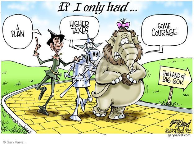 Cartoonist Gary Varvel  Gary Varvel's Editorial Cartoons 2012-11-28 Barack Obama Federal Budget