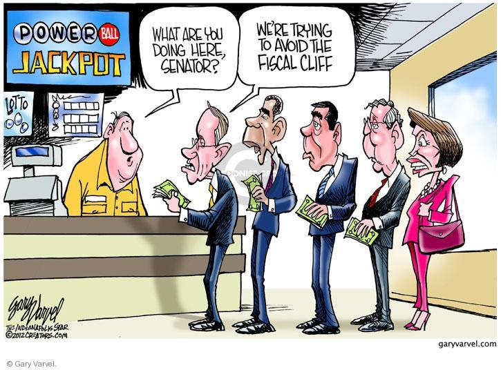 Gary Varvel  Gary Varvel's Editorial Cartoons 2012-11-29 GOP