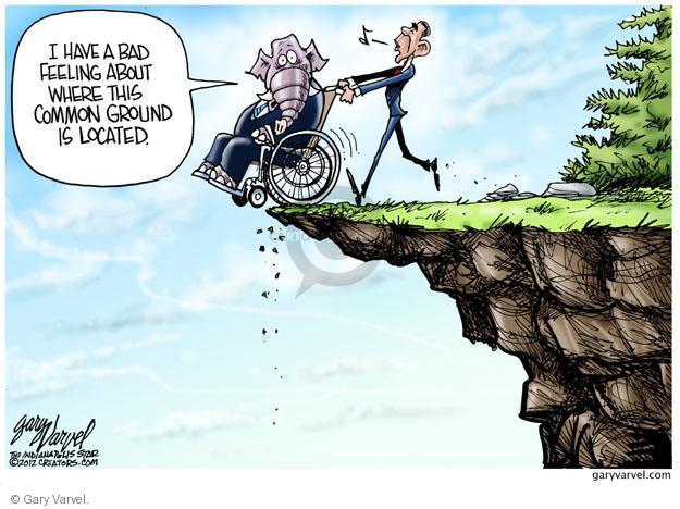 Cartoonist Gary Varvel  Gary Varvel's Editorial Cartoons 2012-12-07 Barack Obama