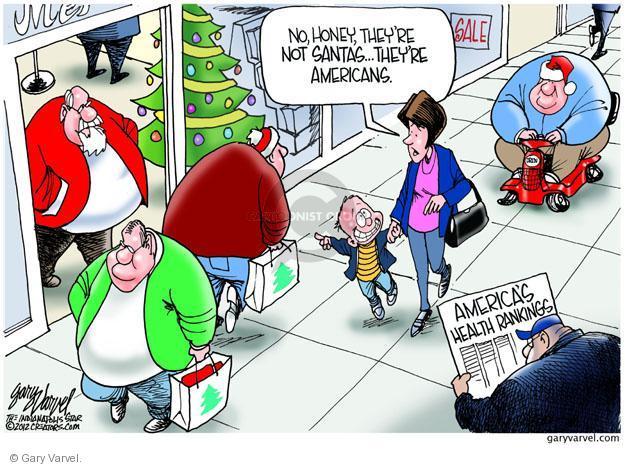 Gary Varvel  Gary Varvel's Editorial Cartoons 2012-12-12 unhealthy