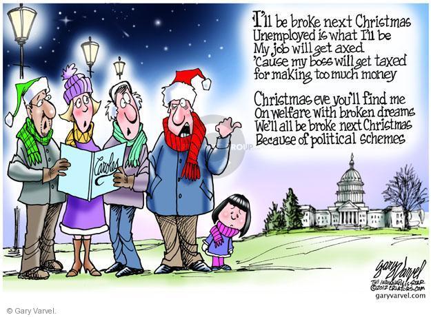 Gary Varvel  Gary Varvel's Editorial Cartoons 2012-12-21 unemployed