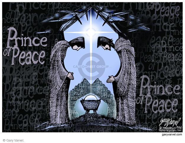 Gary Varvel  Gary Varvel's Editorial Cartoons 2012-12-25 peace