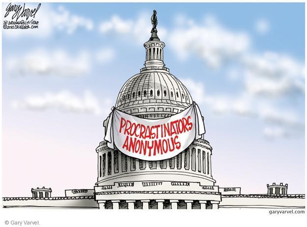 Gary Varvel  Gary Varvel's Editorial Cartoons 2013-01-01 fiscal cliff