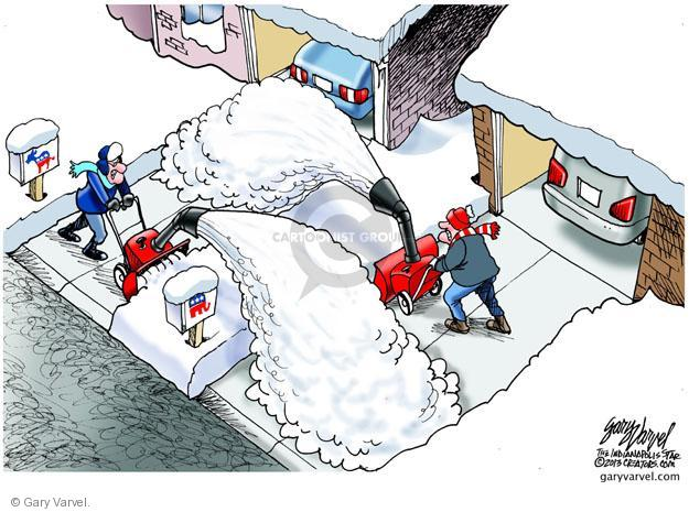 Gary Varvel  Gary Varvel's Editorial Cartoons 2013-01-06 GOP