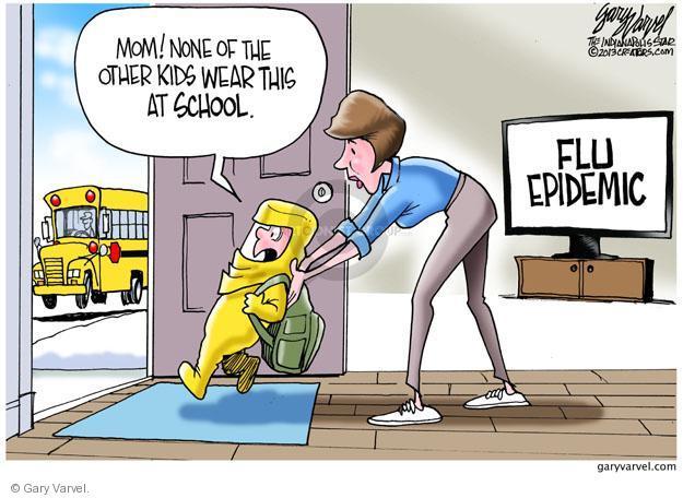 Gary Varvel  Gary Varvel's Editorial Cartoons 2013-01-11 flu