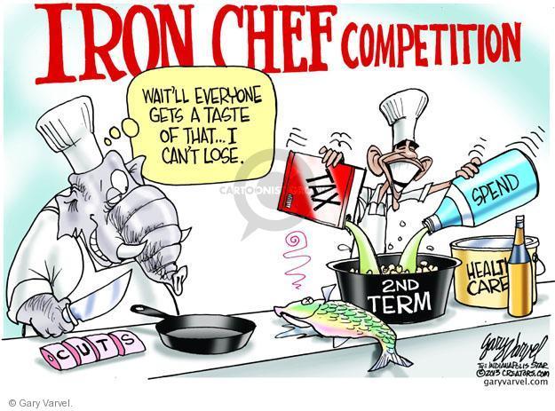 Cartoonist Gary Varvel  Gary Varvel's Editorial Cartoons 2013-01-29 Obama republicans