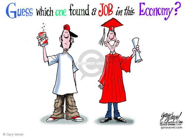 Cartoonist Gary Varvel  Gary Varvel's Editorial Cartoons 2013-02-03 diploma