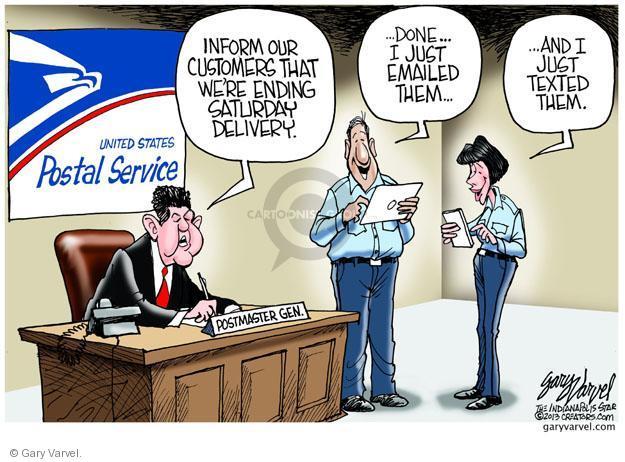 Cartoonist Gary Varvel  Gary Varvel's Editorial Cartoons 2013-02-07 post