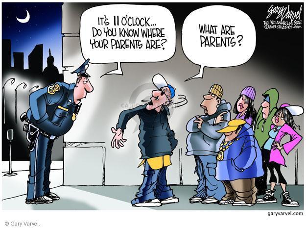 Cartoonist Gary Varvel  Gary Varvel's Editorial Cartoons 2013-02-17 officer