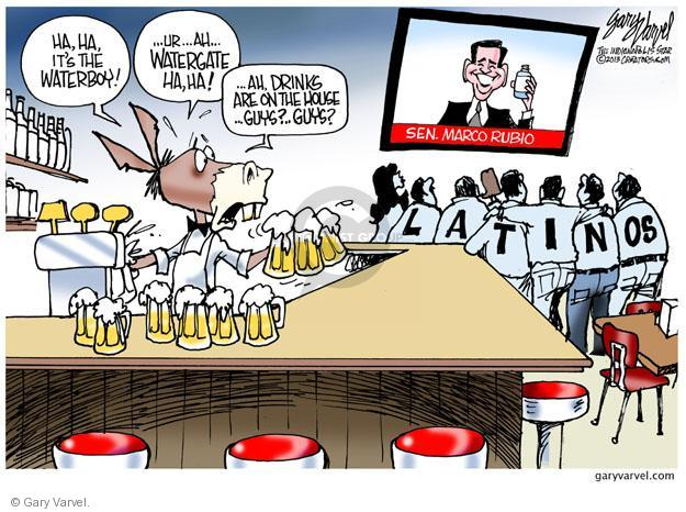 Gary Varvel  Gary Varvel's Editorial Cartoons 2013-02-18 GOP