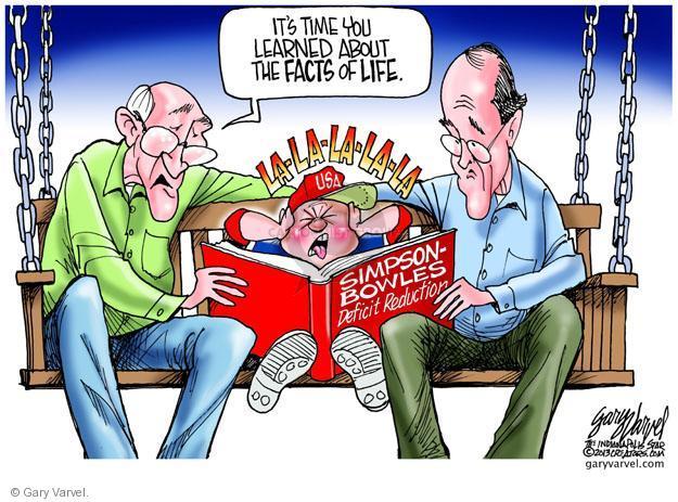 Cartoonist Gary Varvel  Gary Varvel's Editorial Cartoons 2013-02-25 life