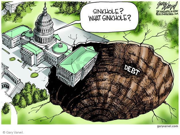 Gary Varvel  Gary Varvel's Editorial Cartoons 2013-03-06 budget deficit