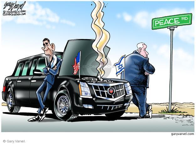 Gary Varvel  Gary Varvel's Editorial Cartoons 2013-03-22 Israel