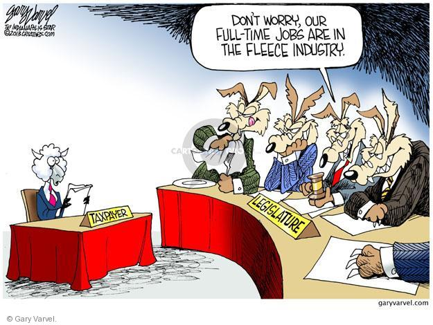 Cartoonist Gary Varvel  Gary Varvel's Editorial Cartoons 2013-03-25 full-time